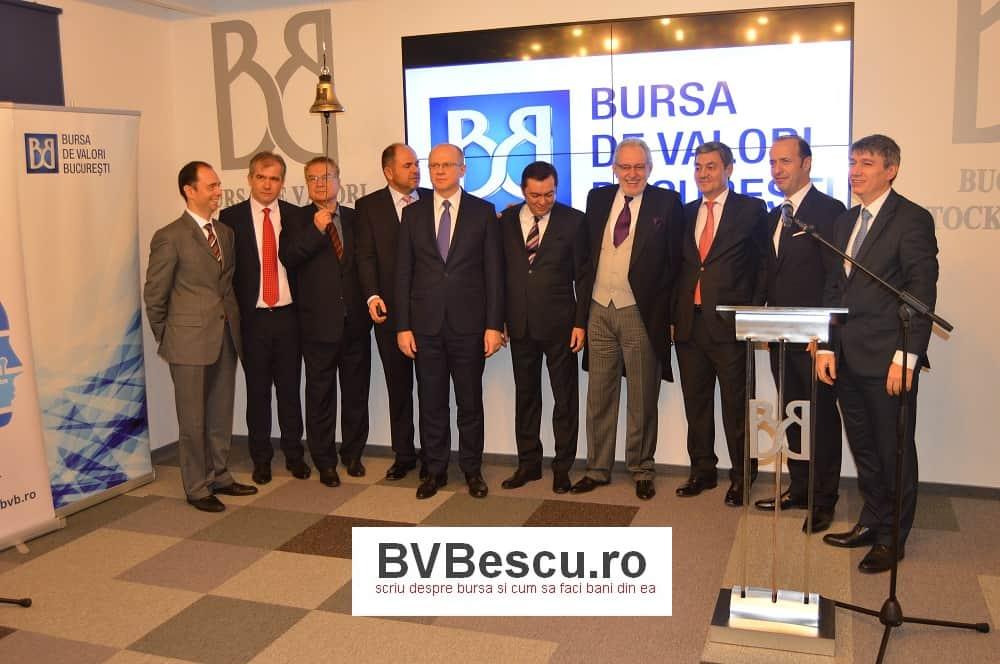 """Am fost la """"20 de ani de la prima sedinta de tranzactionare la Bursa de Valori Bucuresti"""""""