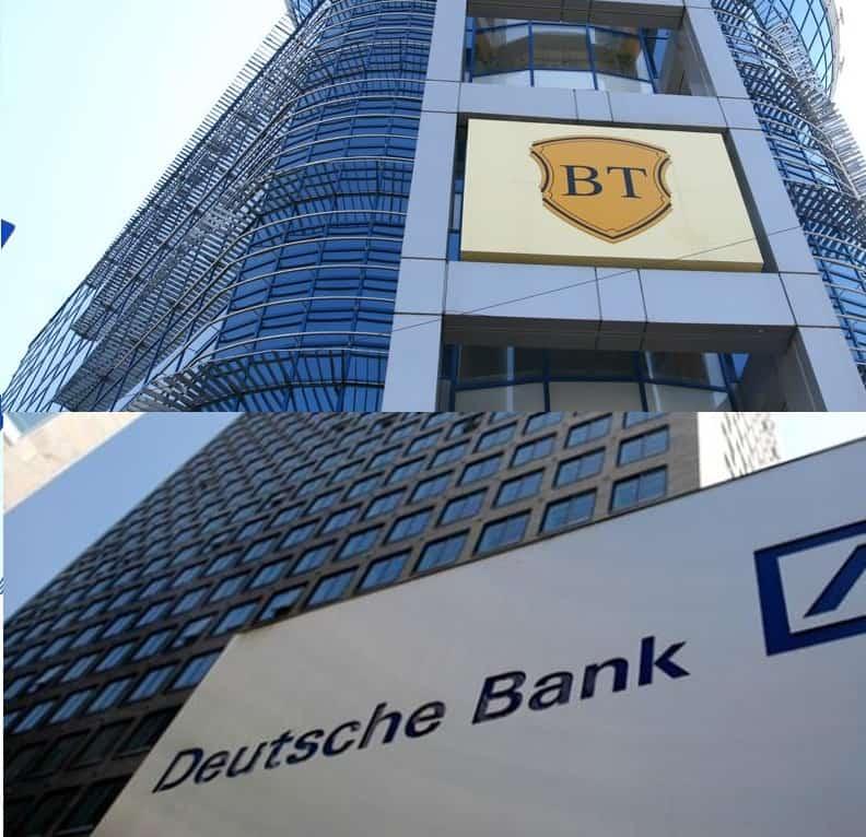 4% pierdere pe Deutsche Bank, 1,63% castig pe Banca Transilvania. Cum credeti ca am iesit?