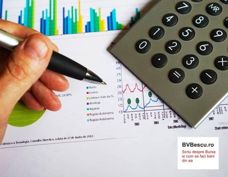 Rezultate financiare 2017, Bursa de Valori Bucuresti, dividende, randamente